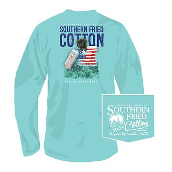 Governor Long Sleeve Tee in Mason Jar by Southern Fried Cotton