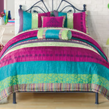 Kamille comforter set bed bath beyond from bed bath - Bed bath and beyond bedroom furniture ...