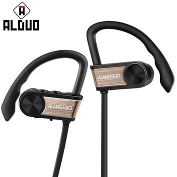 ALANGDUO G7 Wireless Bluetooth Earphones Noise Canceling Headphones With Mic Waterproof Sport Bluetooth Headsets