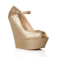 Lipsy Gold Trinity High Heel Shoes - High heel shoes - Shoes & boots - Women -