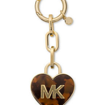 MICHAEL Michael Kors Handbag, Tortoise Heart Key Ring - Handbags & Accessories - Macy's
