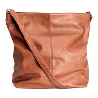 Shoulder bag - Cognac brown - Ladies | H&M GB