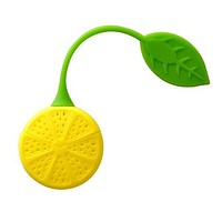 Lemon Silicone Tea Infuser