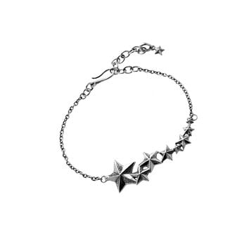 Rock Star Sterling Silver Bracelet
