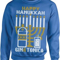 Ugly Christmas Sweater - Happy Hanukkah