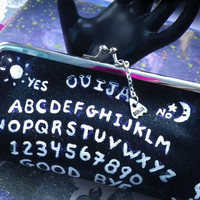 Ouija Board clutch purse LAST ONE
