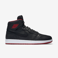 Air Jordan Retro 1 High Nouv Black Gym Reds