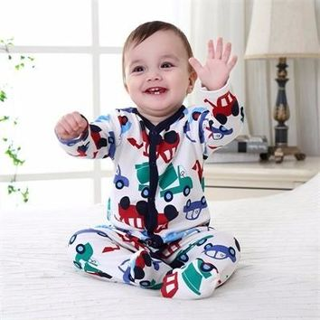 2017 Autumn-Winter Newborn Girls and Newborn Boys , Pretty, Cozy, 1 piece with Footies Sleeper Comes in Various assorted Colors and prints.