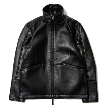 Harrington_Bonded Leather/Interlock Composite Material