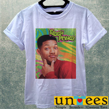 Low Price Women's Adult T-Shirt - Will Smith The Fresh Prince of Bel Air design