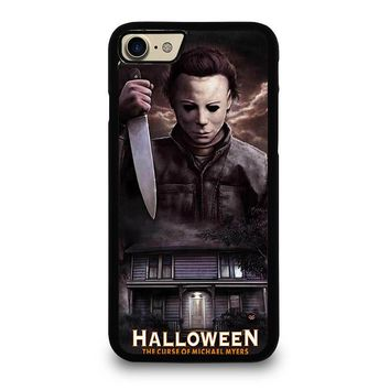 MICHAEL MYERS HALLOWEEN iPhone 4/4S 5/5S/SE 5C 6/6S 7 8 Plus X Case