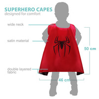 Toddler Superhero Cape with Mask