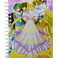 SAILOR MOON DRESS NOTEBOOK
