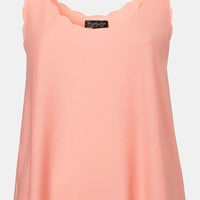Topshop Scalloped Tank | Nordstrom