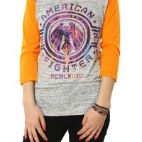 American Fighter Women's Clarion Raglan Graphic T-Shirt