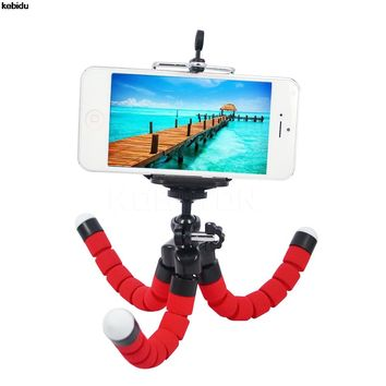 2017 Hot Sale Camera Phone Holder Flexible Octopus Tripod Bracket Stand Mount Monopod Styling Accessories For Mobile smartPhone