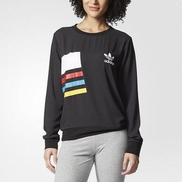 Women¡¯s Adidas Casual Sport Long Sleeve Top Sweater Pullover