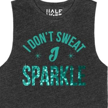 I Sparkle-Unisex Heather Onyx T-Shirt