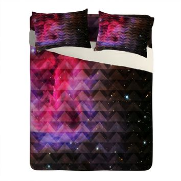 Caleb Troy Tribal Galaxy Elevator Sheet Set Lightweight