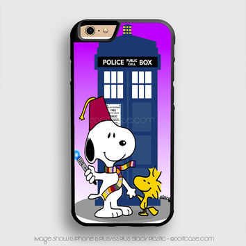 snoopy - doctor who iPhone 6 Plus Case iPhone 6S+ Cases