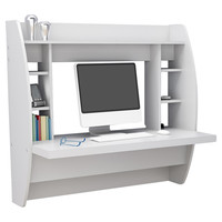 Prepac Floating Desk with Storage