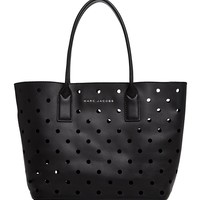 MARC JACOBSPerforated Leather Tote