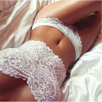 Sexy Women Strapless Lace Bras Tank Cropped Tube Tops+Brief Underwear Sets Young Ladies Lace Bra And Panty Set Plus Size XXXL