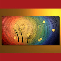 AB0410009  Oil Painting On Canvas, 60 x120 cm/24 x 48 in