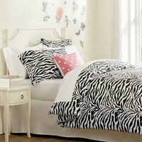Funky Zebra Organic Duvet Cover + Pillowcases