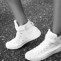Converse Womens Mono Leather Hi Top Chuck