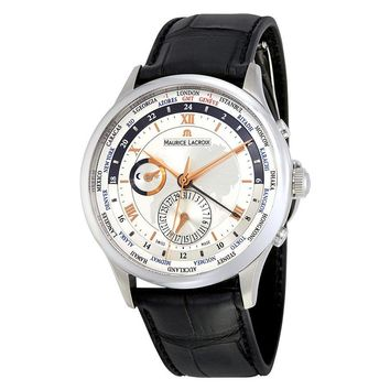 Maurice Lacroix Masterpiece Tradition Worldtimer Mens Watch MP6008-SS001-110