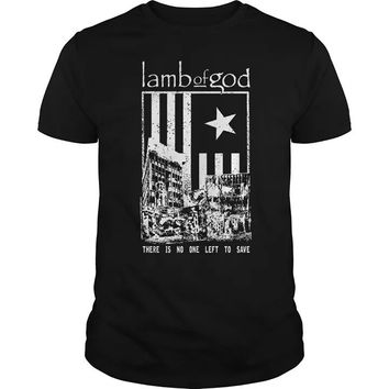 Lamb god - There is no one left to save t-shirt