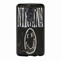 Nirvana Wood Sign Art LG G3 Case