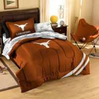 Collegiate University of Texas Complete Bed Ensemble