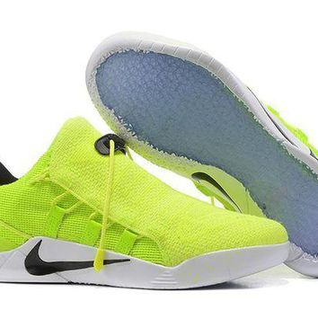 PEAPON3A VAWA Nike Zoom Men's Kobe 12 A.D.NXT Knit Basketball Shoes Fluorescent Green