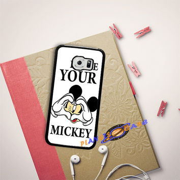 Disney Mickey Mouse I'll be Your Mickey Samsung Galaxy S6 Edge Case Planetscase.com