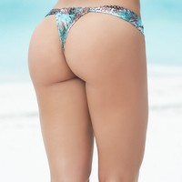 Wild Animal Print Sunny Days Thong
