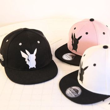 Cartoon Pokemon Go Cosplay Cap Kids Bone Masculino Hip Hop Dad Pikachu Pocket Hat Drake Baseball Ash Ketchum Cap Snapback Gorro