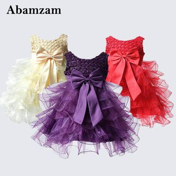 Newborn Baby Girl Dress Photography Children Fashion Summer Prom Evening Party And Wedding Clothing Kids Birthday Vestido Infant