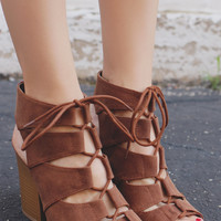 Fashion Faithful Heel - Cognac