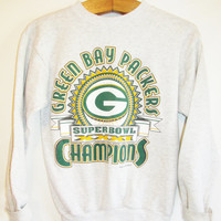 Vintage 1990's Green Bay Packer Football Sweatshirt