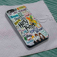 Harry Potter Collage For - iPhone 4 4S iPhone 5 5S 5C and Samsung Galaxy S3 S4 S5 Case