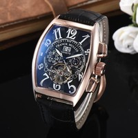 8DESS Franck Muller Woman Men Fashion Automatic Mechanical Wristwatch Watch