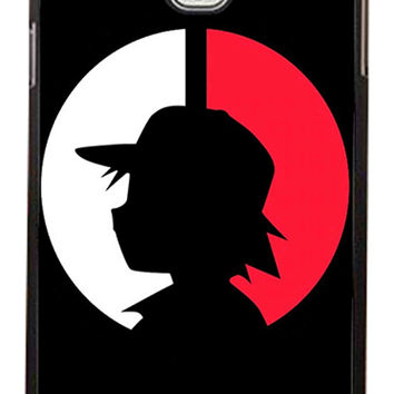 Pokemon Ash Ketchum Samsung Galaxy Note 3 Cases - Hard Plastic, Rubber Case