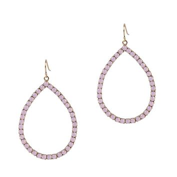 EMILIA HOOPS IN ROSE OPAL