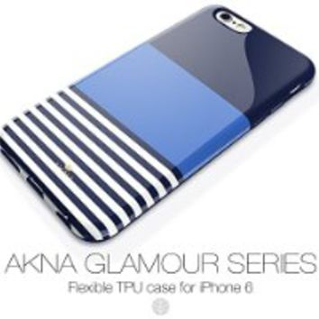 iPhone 6/6s case for girls, Akna Glamour Series [Flexible TPU]*[High Impact]*[Exclusive Pattern] Soft Back Cover for iPhone 6/6s (4.7 inch iPhone) - [Swallow Gird](US)