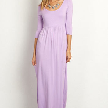 Sydney 3/4 Sleeve Maxi Dress - [Additional Colors]