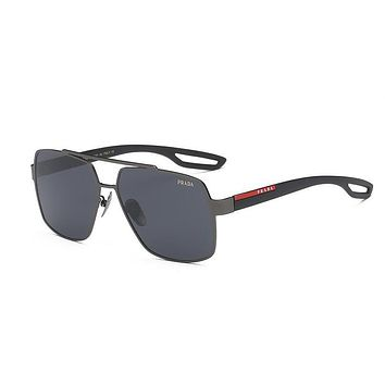 PRADA Men Retro Fashion Shades Eyeglasses Glasses Sunglasses