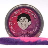 Crazy Aaron Thinking Putty-Mini Tin-Amethyst Blush  .47oz size