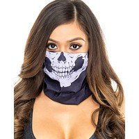 Skull Single Layer Face Mask (Available in 4 Colors)